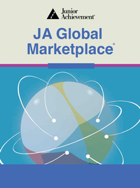 JA Global Marketplace Blended Model curriculum cover