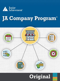 JA Company Program Blended Model curriculum cover